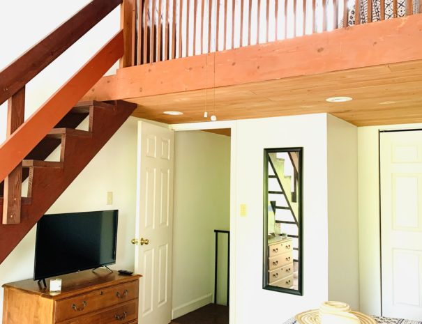 View of Sleeping Loft from the Master Bedroom
